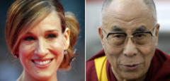 Na, wissen Sie es?: Carrie Bradshaw oder Dalai Lama - wer hats gesagt?