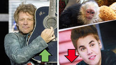 Bon Jovi und Justin Bieber - Top & Flop des Tages